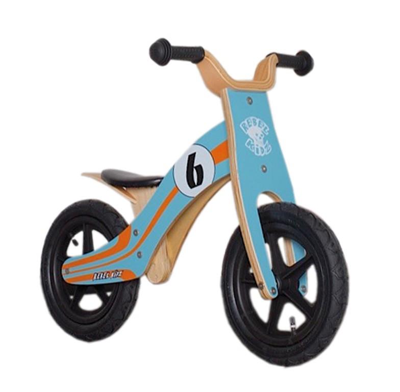 "Rebel Kidz Bici de aprendizaje 12"" Wood Air Le Mans"